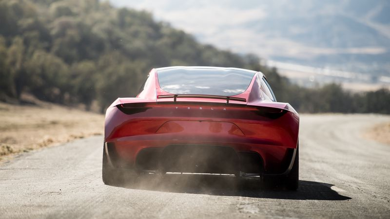 Tesla Unveils Its First Electric Semi Truck And New Version Of - Gb sports cars zero