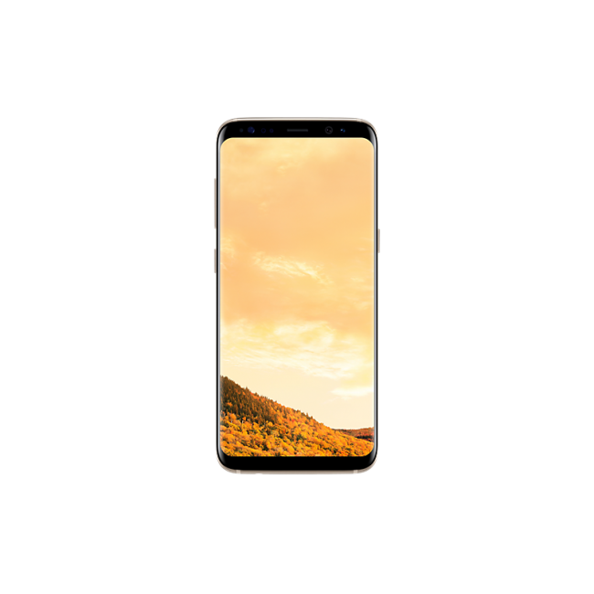 Samsung-galaxy-s8 maple gold