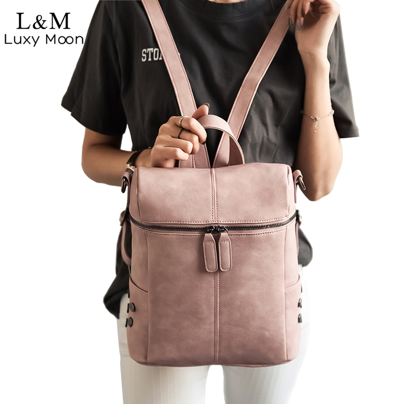 9c818d758455 Simple Style Backpack for women who like carrying a sophisticated bag