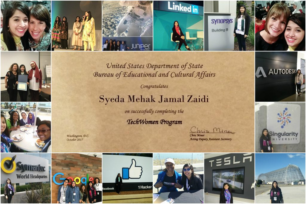 Techwomen collage