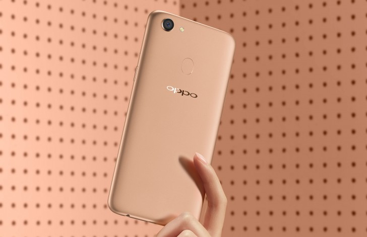 Oppo F5 6GB RAM, 64GB goes on sale in India