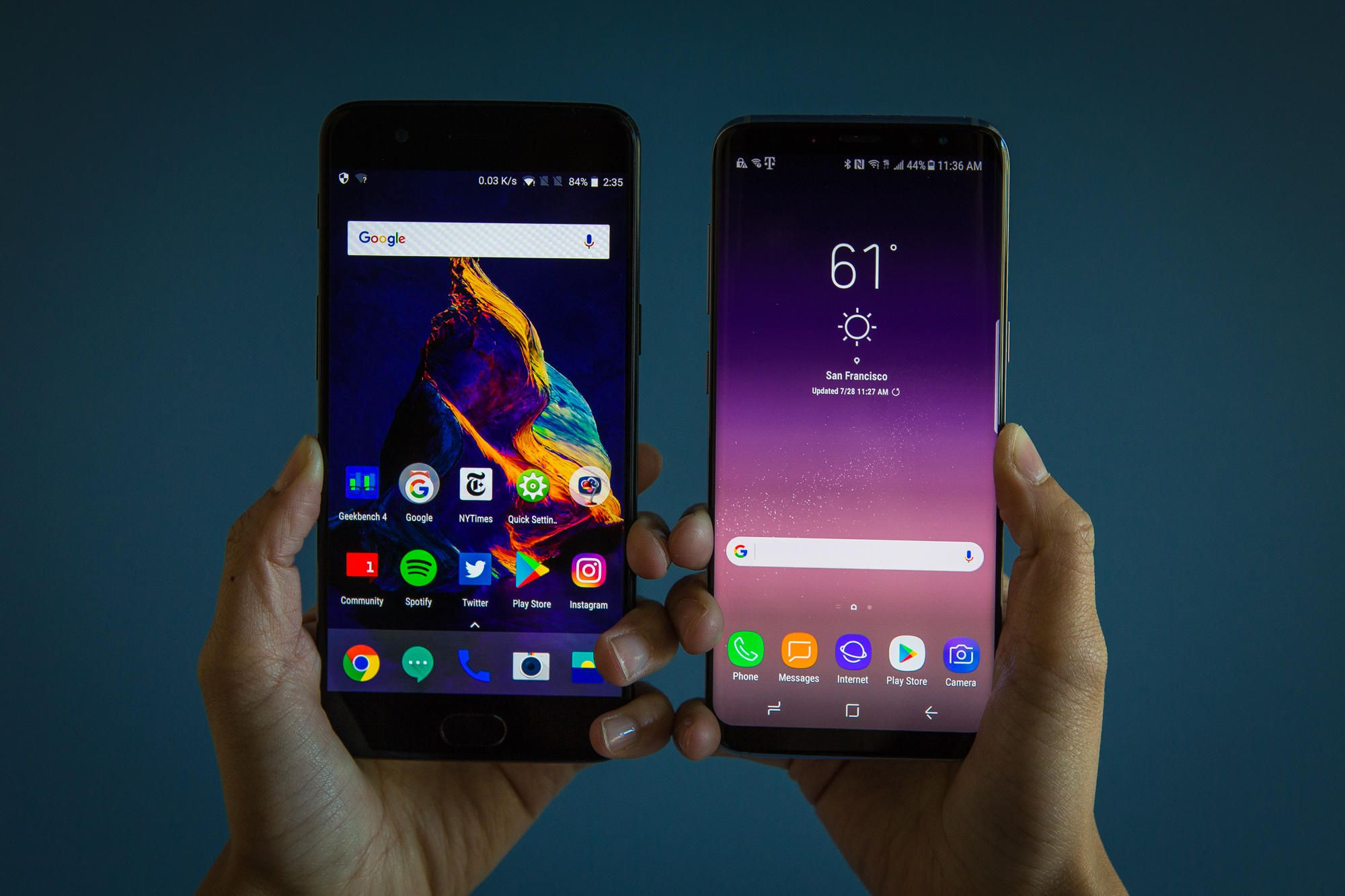 f7da431f365 OnePlus 5T beats iPhone 8 Plus, Galaxy S8+ and Pixel 2 XL in charging test