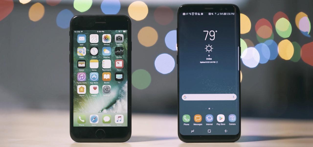 S8 velocity vs iphone 8