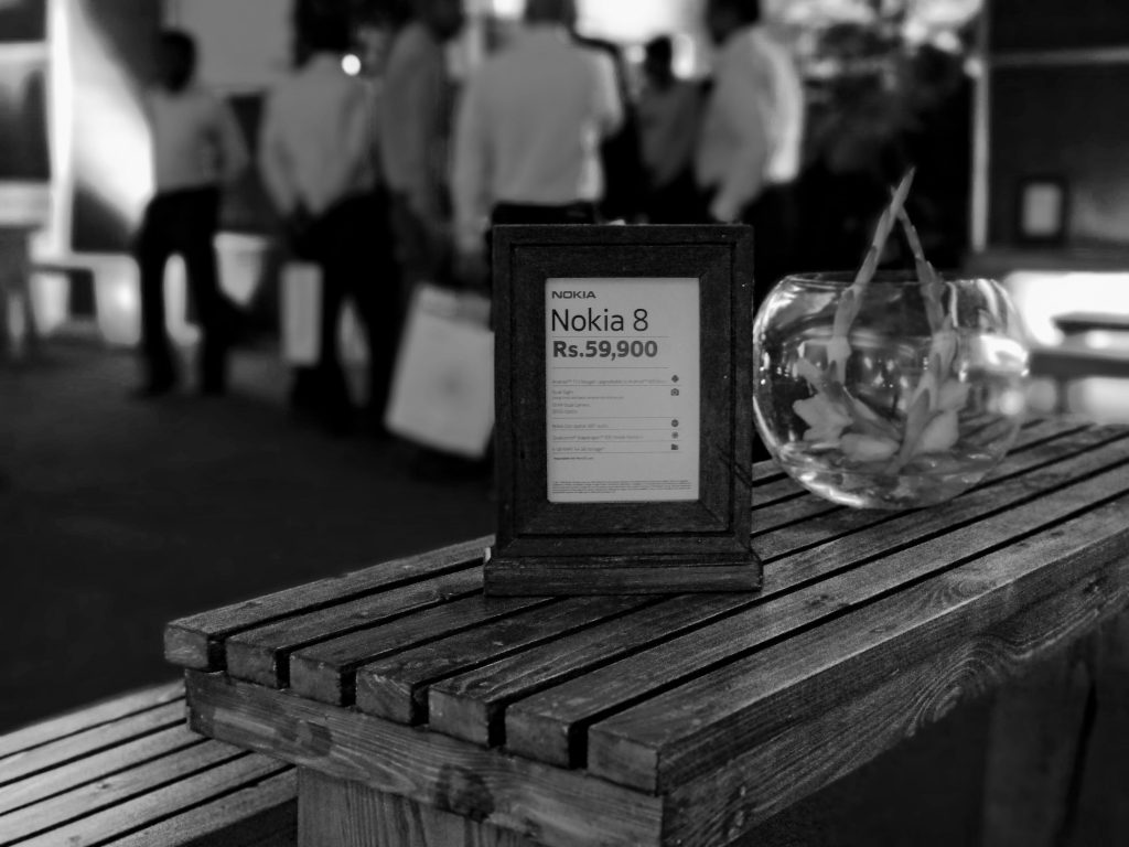 Nokia 8 Launch Desk