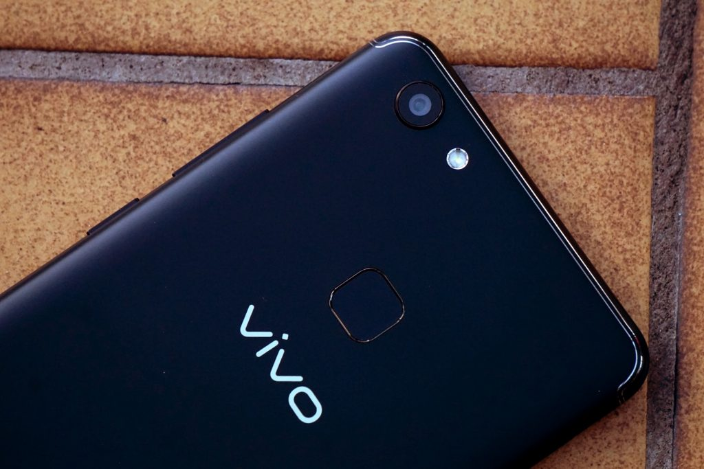 This Could Be Vivo's In Display Fingerprint Sensor Equipped Smartphone