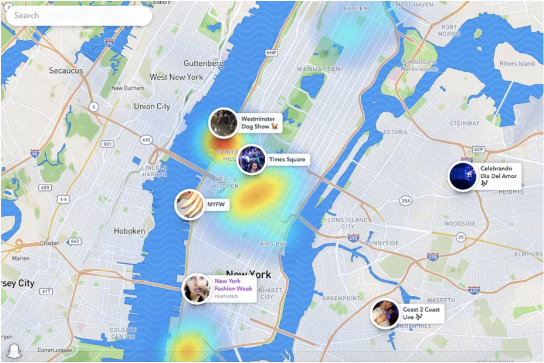 Snapchat has made the web version of Snap Map