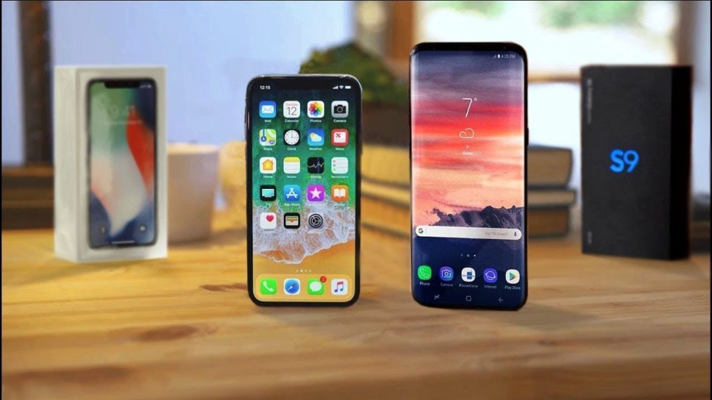 iPhone x vs. galaxy S9 - svetapple.sk