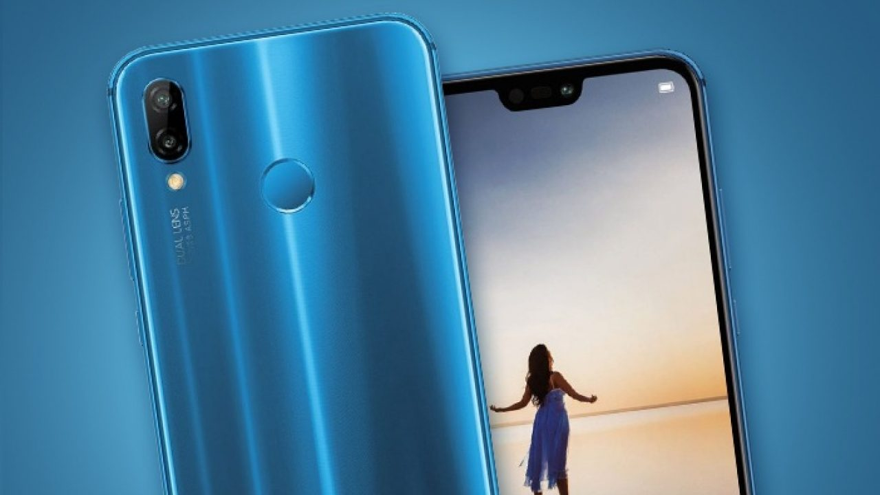 Huawei unveils P20 Lite as Nova 20e with a notch