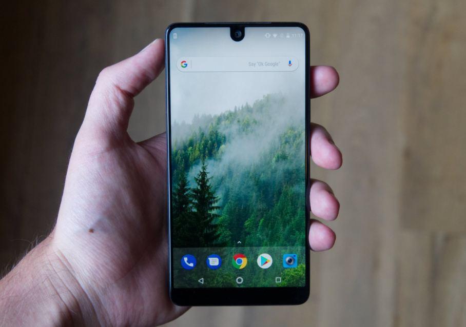 top 10 bezelless design smartphones of 2018