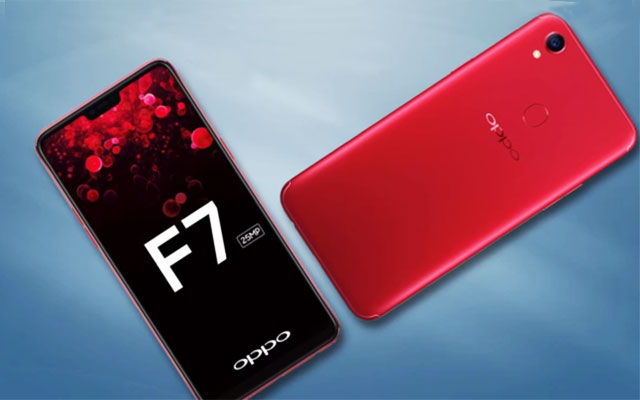Oppo F7, new cameras, new display and a notch