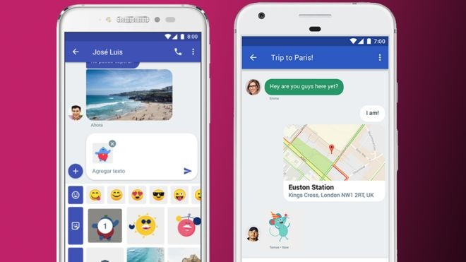 Google is improving SMS on Android with an iMessage-like