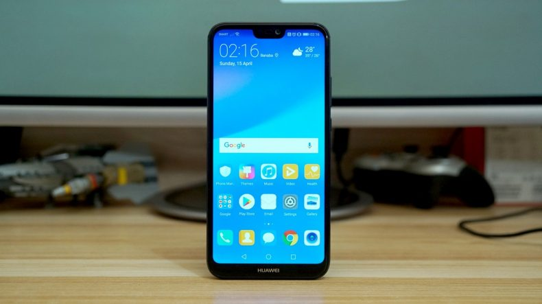 huawei p20 lite devices in pakistan receiving an update to hide notch. Black Bedroom Furniture Sets. Home Design Ideas