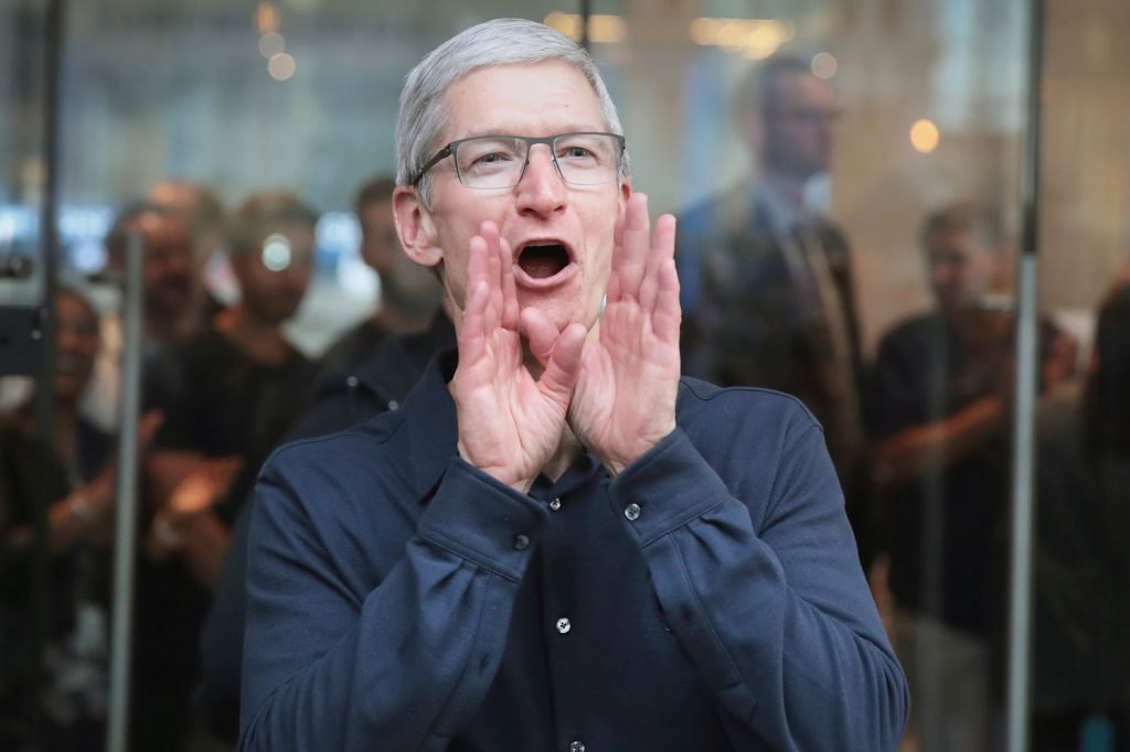 Apple sets new first-half record in India: Tim Cook