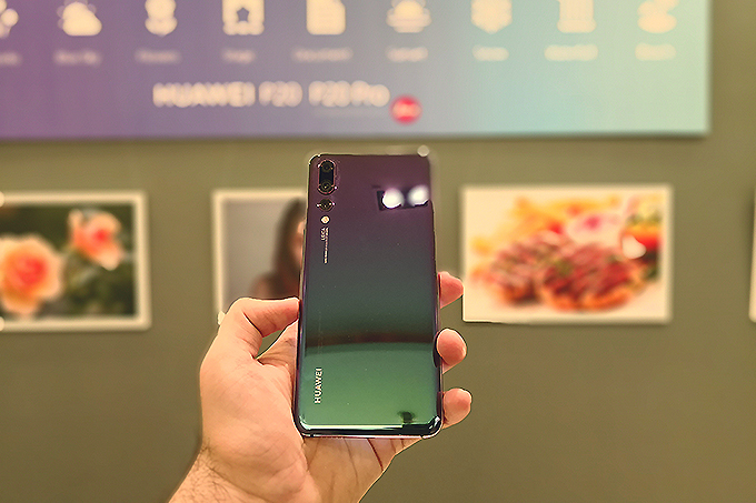 Huawei P20 Pro officially launched with triple rear cameras