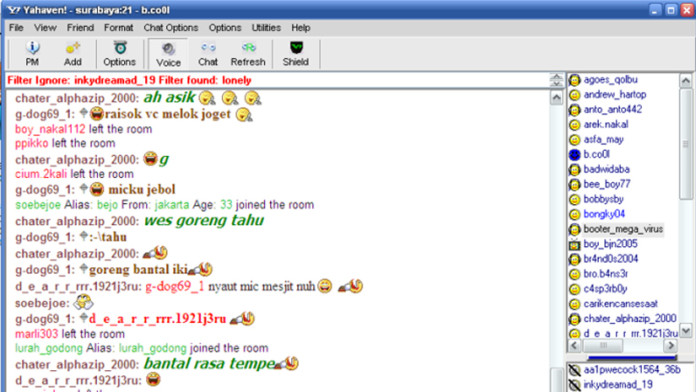 fun chat room 2000