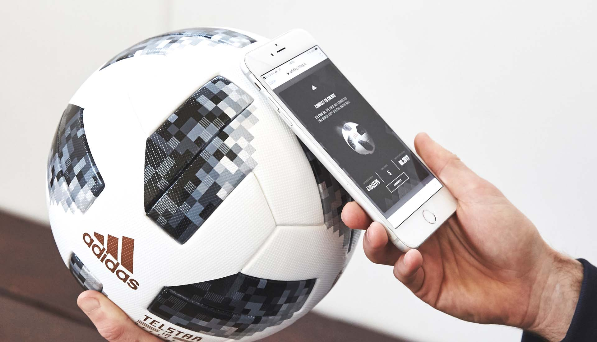 Here S Everything You Need To Know About Adidas Telstar 2018 Nfc Enabled Football
