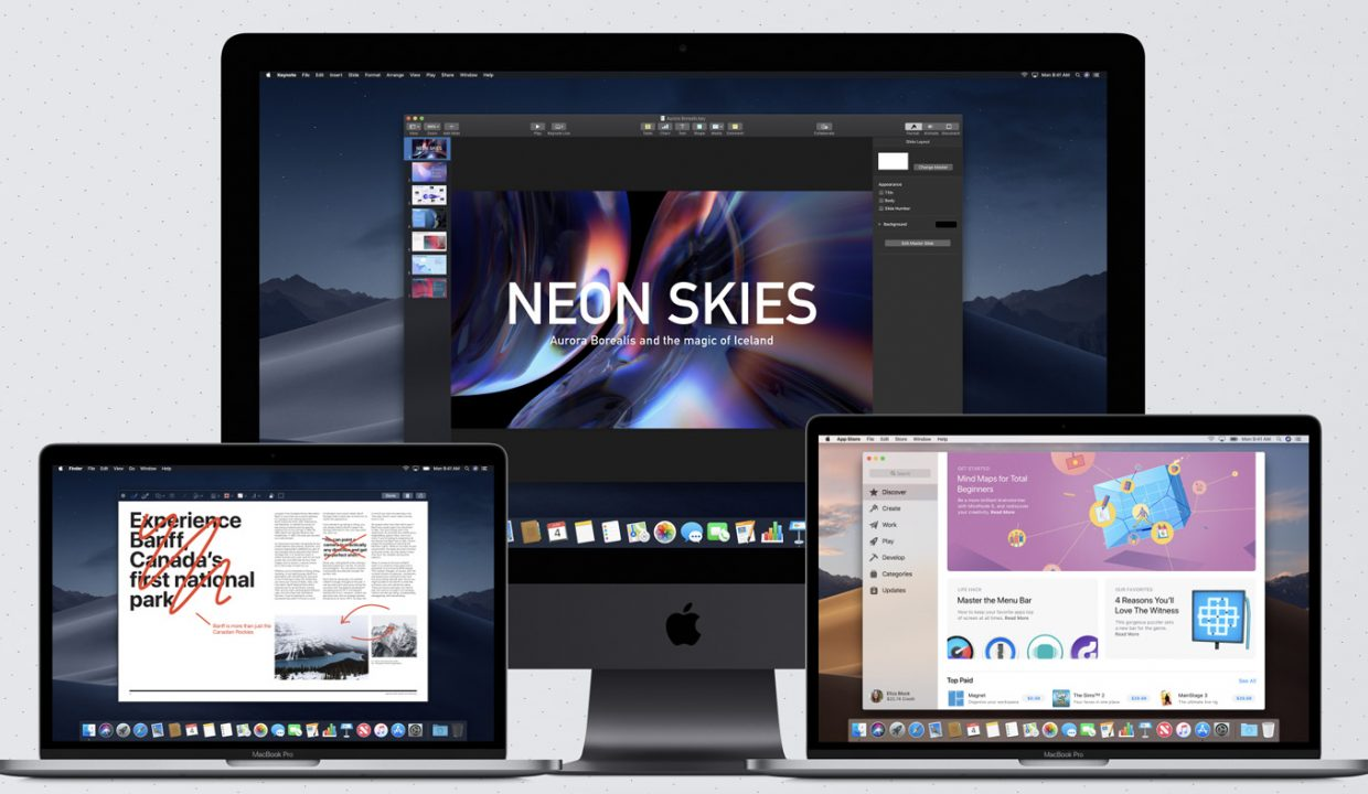 Apple introduces macOS 10 14 Mojave – here are the supported Macs