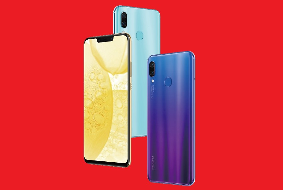 Huawei Nova 3 with 4 cameras and 6 GB RAM has been unveiled