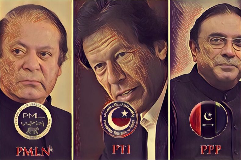 PTI PMLN PPP