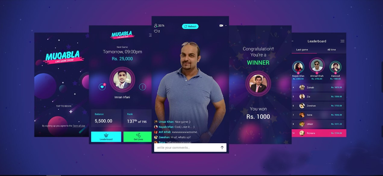 Play and win cash prizes in pakistan