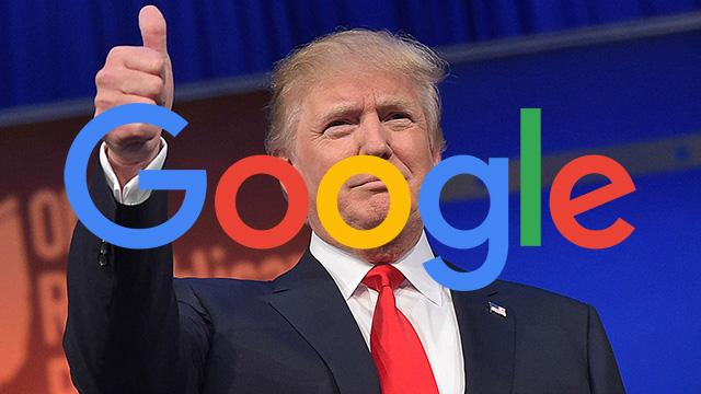 Google Donald Trump