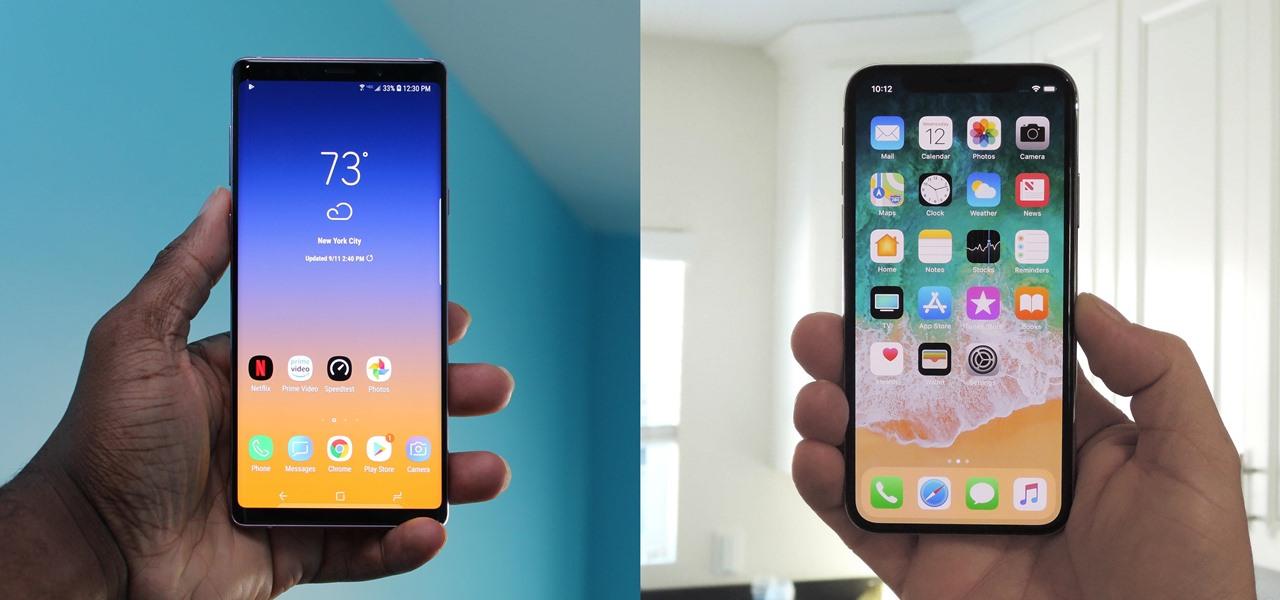 iphone-xs-max-vs-samsung-galaxy note 9