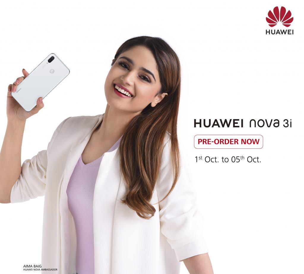 [Pre-order KV] (FV) - HUAWEI nova 3i Pearl White Colour