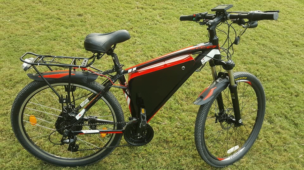 1e46fb48f25 Student from Peshawar develops electric bike which can go 102 km on a  single charge