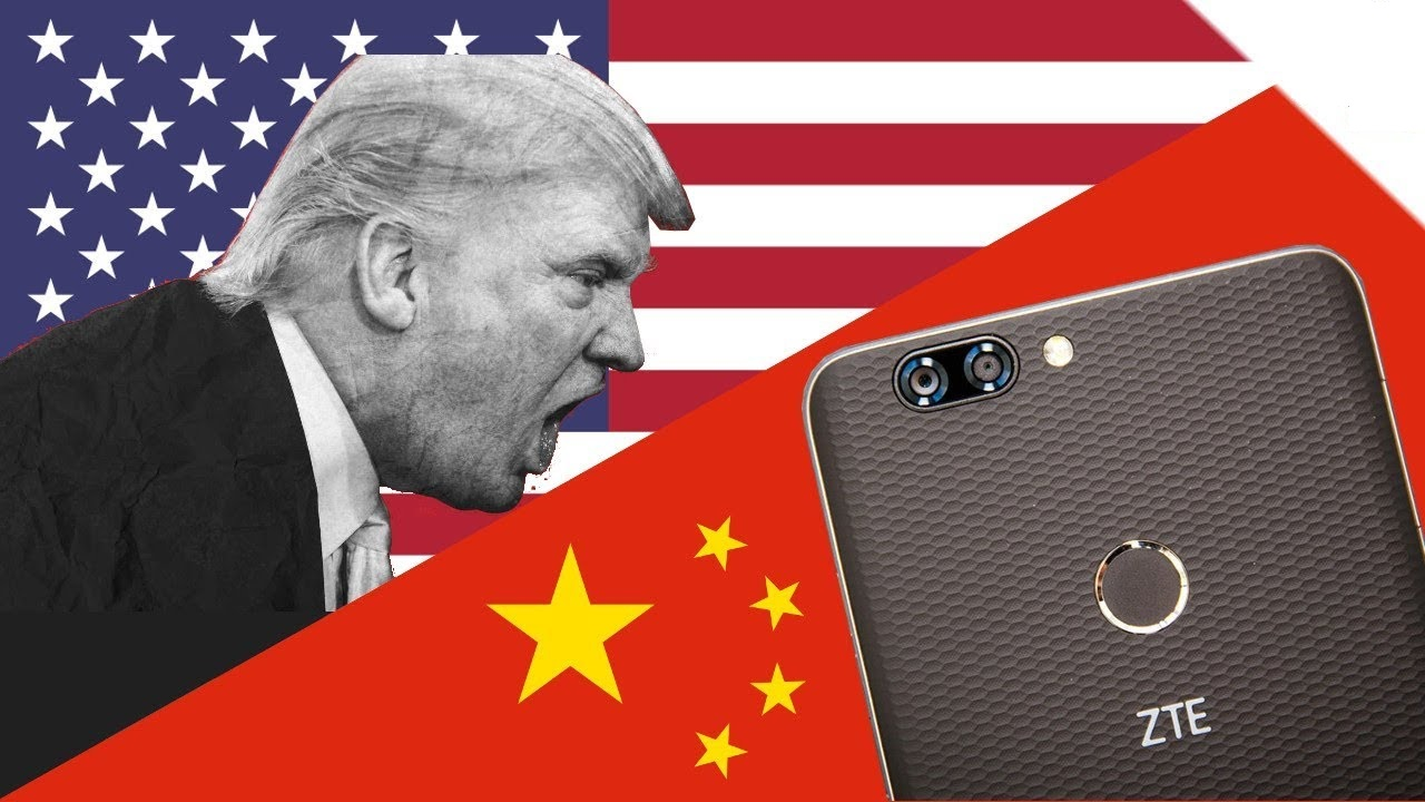 Trump wants to ban US companies from using China's Huawei and ZTE made equipment