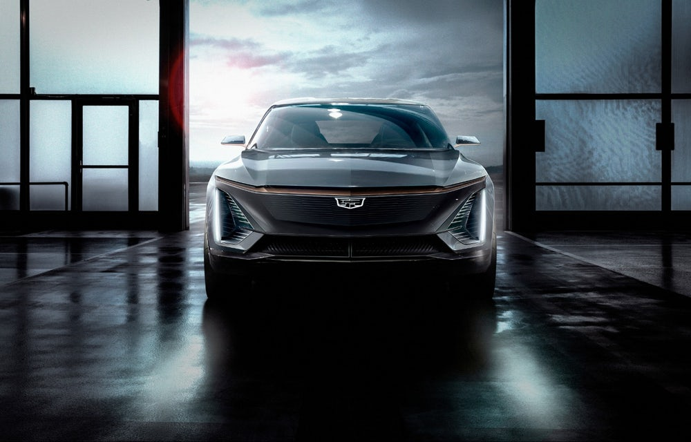 Cadillac Shows Off Its First Fully Electric Car From The Future