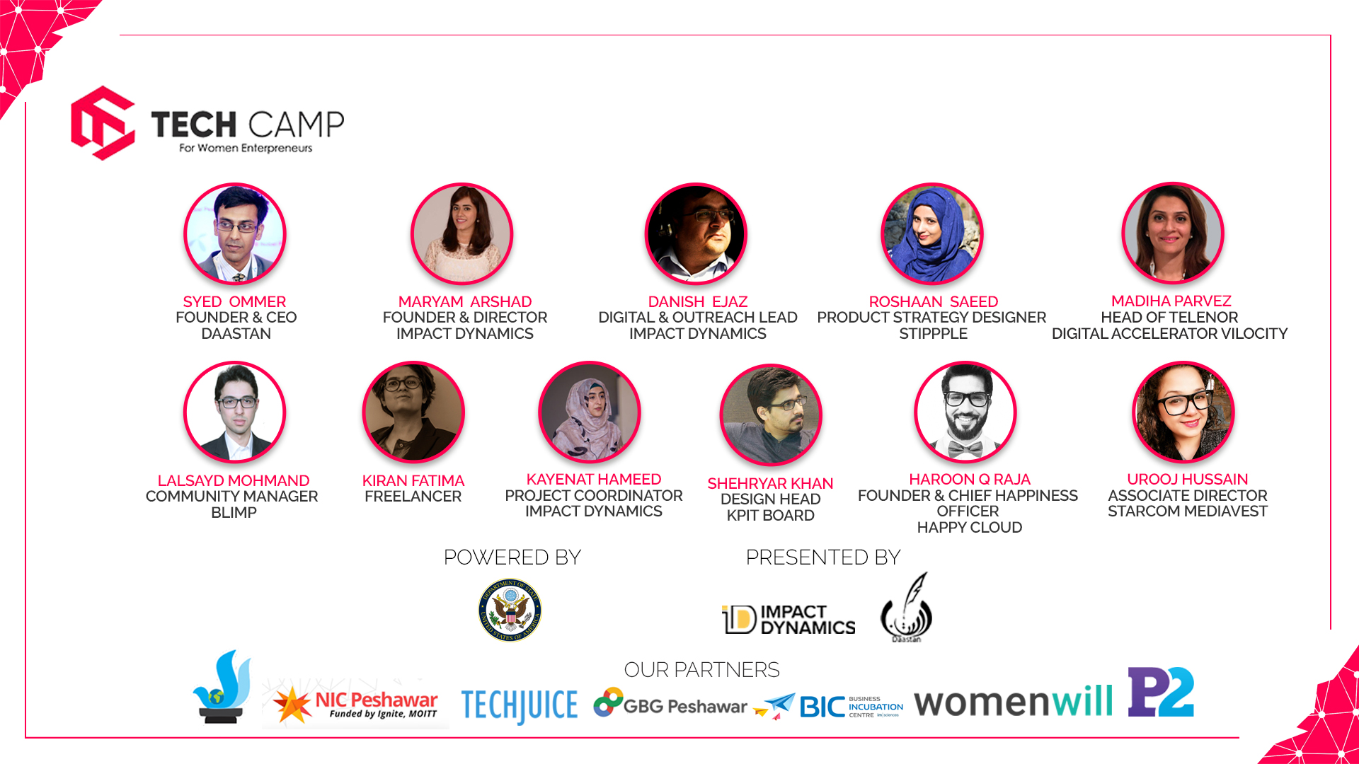 Peshawar's first ever Tech Camp for Women Entrepreneurs is