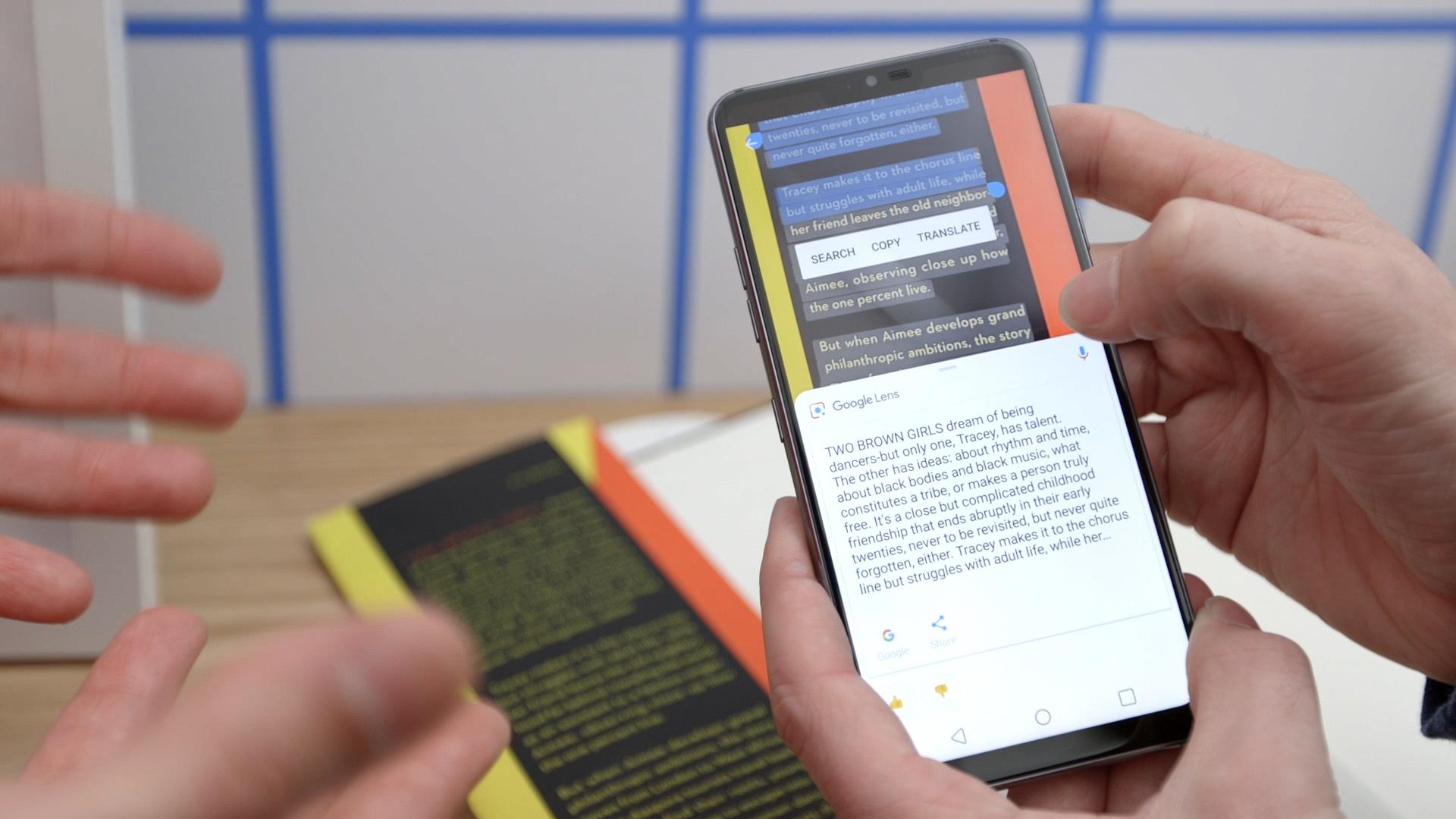 كيفية ترجمة النصوص باستخدام كاميرا هاتفك وخاصية Google Lens بدون إنترنت