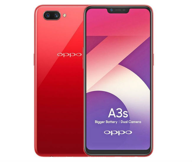 Oppo A3s TechJuice