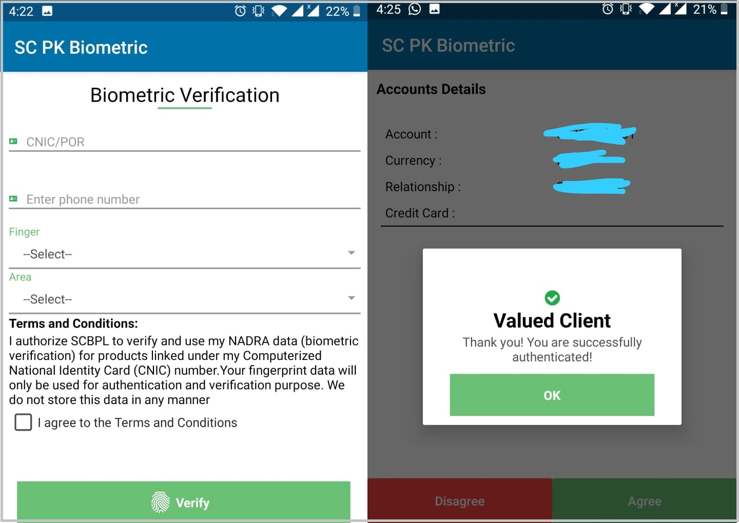 Standard Chartered bank account holders can now verify their