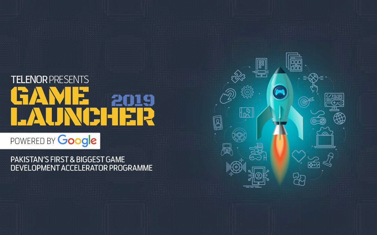 Telenor Presents Game Launcher 2019 - Powered by Google Techjuice