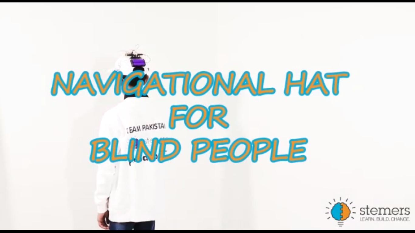 Zohaib-blind-hat-stemers-Arduino-Techjuice