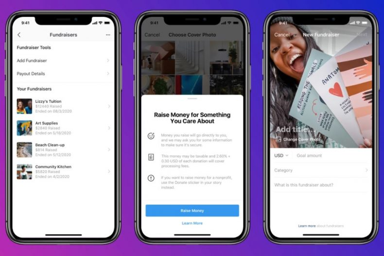 Instagram-New-Fundraising-Feature-TechJuice